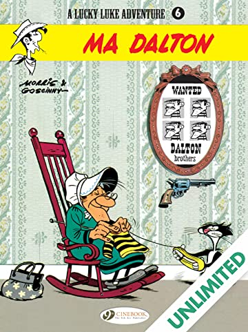 Lucky Luke Vol. 6: Ma Dalton